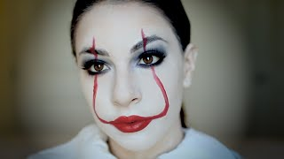 The Scariest Thing About This Terrifying Clown Makeup Is How Simple It Is!