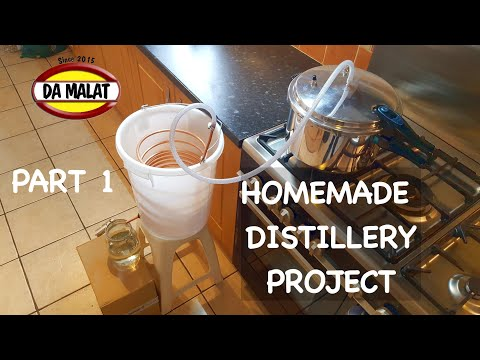 , title : 'How To Make A Home Made Distillery   Making a simple pressure cooker distillery for essential oils