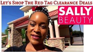 Sally Beauty Supply!! Follow Me To Look At Clearances
