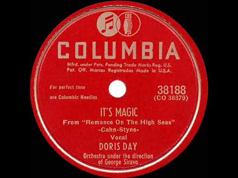 1948 HITS ARCHIVE: It's Magic - Doris Day (her original version)