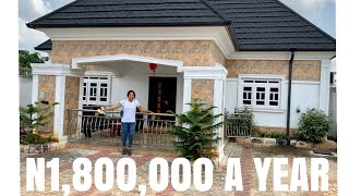 WHAT $3,789 A YEAR CAN GET YOU IN OWERRI NIGERIA|4 BEDROOM ALL EN-SUITE FULLY FURNISHED BUNGALOW