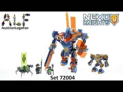 Vidéo LEGO Nexo Knights 72004 : L'Armure 3-en-1 de Clay