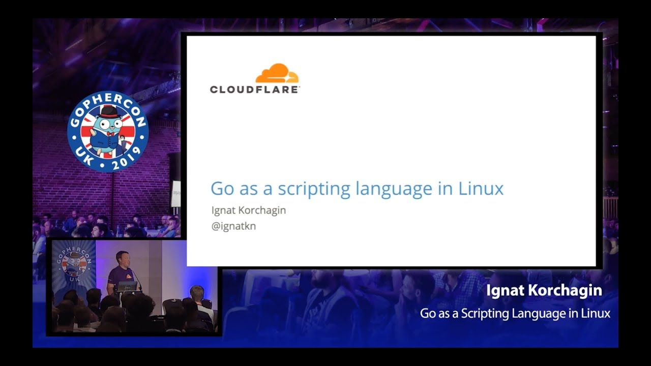 Go as a Scripting Language in Linux