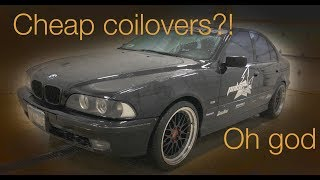 Are cheap coilovers worth it? BMW E39 MaxPeedingRods coilover install