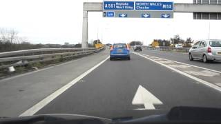 preview picture of video 'Green Lane Wallasey and M53 Drive Around'