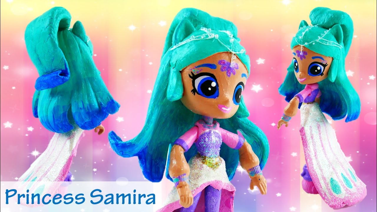 PRINCESS SAMIRA Custom Genie Doll Shimmer and Shine Toys My Little Pony Equestria Girls Minis