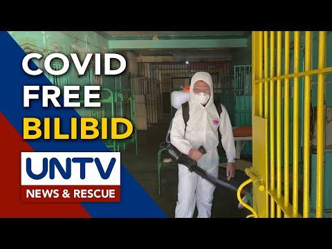 [UNTV]  New Bilibid Prisons, nanatiling COVID-19 Freea ayon kay Dir. Gen. Gerald Bantag