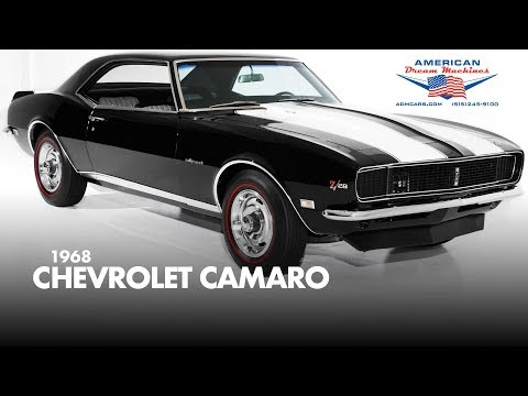 Video of '68 Camaro - MRUB