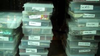 How I Organize My Jewelry Making Supplies