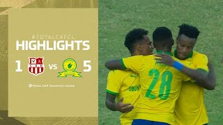 CAF CL | CR Belouizdad 1-5 Mamelodi Sundowns