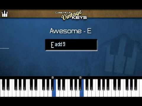 """""""AWESOME"""" - LIVE  BISHOP CHARLES JENKINS (PIANO TUTORIAL PREVIEW: VINTAGE KEYS COURSE)"""