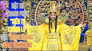 """Bật mí bộ trang phục """"siêu to khổng lồ"""" của """"Ngọc Hoàng"""" Đàm Vĩnh Hưng trong Táo Quân 2020"""