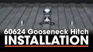 Gooseneck Hitch Install: CURT 60624 with 60611 Double Lock EZr on a Chevy Silverado 2500 HD