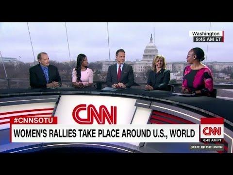 Trump on women's march: 'celebs hurt cause badl...