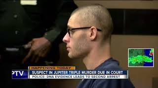 Jupiter Triple Murder Suspect To Appear In Court
