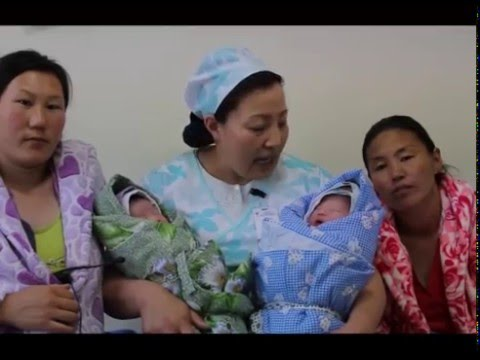 Mongolian midwife saves lives