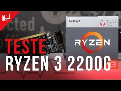 Novo rei dos hardwares baratinhos? Ryzen 3 2200G versus GT 1030 e Ryzen 5 2400G