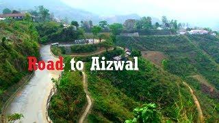 Drive to Hill Peak of Aizawl, Mizoram