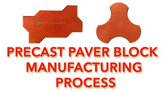 Precast Paving Blocks Manufacturing Process
