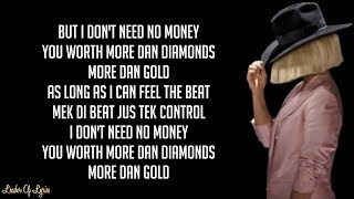 Sia   CHEAP THRILLS (Lyrics) Ft. Sean Paul