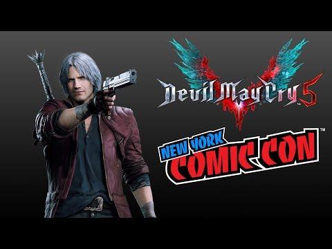 Panel NYCC 2018  de Devil May Cry 5