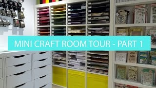 Whats In My Ikea Billy Storage - Mini Craft Room Tour