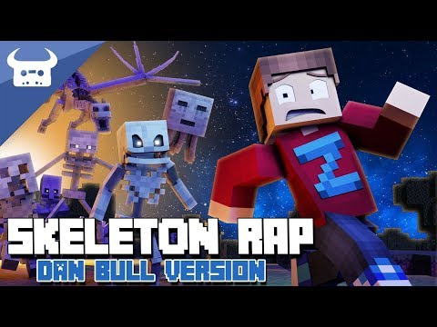 "MINECRAFT SKELETON RAP | ""I've Got A Bone"" | Dan Bull Animated Music Video"