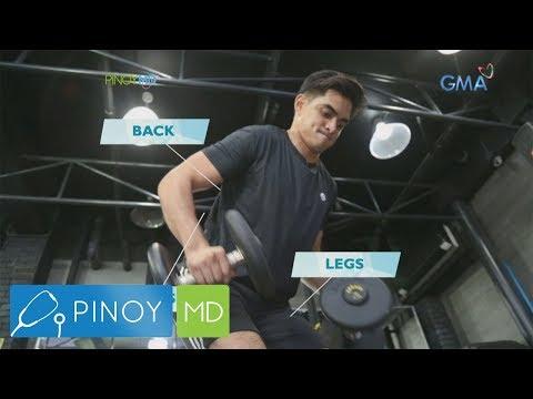 [GMA]  Pinoy MD: Juancho Trivino, nagbigay ng workout tips