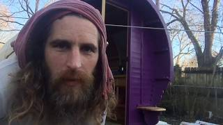 Gypsy Wagon for sale | GLAMPING | video tour | tin