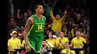 Oregon's Kenny Wooten Had A Block Party In 1st Round Upset Over Wisconsin