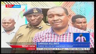 Three killed by unidentified persons at a food court in Garissa Town
