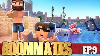 """SkyDoesMinecraft ROOMMATES! """"DUMB MAN'S CHEST"""" S3 #9 (Minecraft Roleplay Show)"""