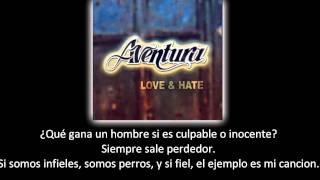 Aventura - Llorar (lyric - letra)