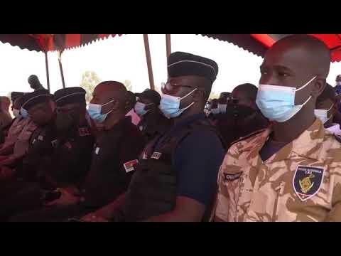 Burkina FASO : le projet STABEST apporte un appui aux forces de sécurité intérieure