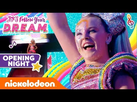 Opening Night Nerves?!  😖 JoJo Siwa's Follow Your D.R.E.A.M. Special | Nick