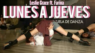 LUNES A JUEVES   Leslie Grace Ft. Farina | Cris Bazan HEELS (Tacones) COREOGRAFIA