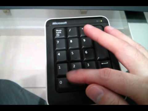 Teclado Numérico Bluetooth Microsoft Number Pad