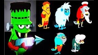 ОХОТНИКИ НА ЗОМБИ #59 Мульт Игра для детей про ловцов зомби Zombie Catchers #Мобильные игры