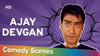 Ajay Devgan Comedy Scenes - अजय देवगन की सुपरहिट कॉमेडी सीन्स - Top Bollywood Comedy Movie Scenes - Download this Video in MP3, M4A, WEBM, MP4, 3GP