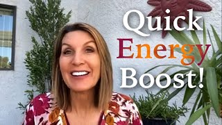 Do this for a quick energy boost! [Energy Shot #68]