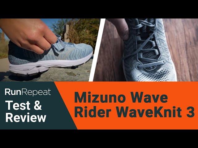 Mizuno Wave Rider WaveKnit 3 test & review -  A firm & responsive daily running shoe