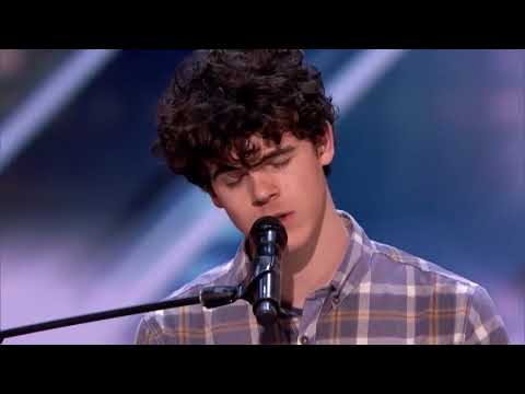 'Hello - Lionel Richie' cover by 'Joseph O'Brien' - Auditions 2018 || America's Got Talent 2018