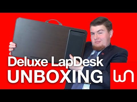 The DELUXE LapDesk Unboxing!