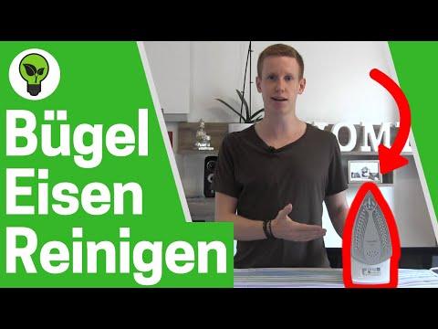 Bügeleisen reinigen ✅ ULTIMATIVE LÖSUNG: Bügeleisensohle von Dampfbügeleisen sauber machen???