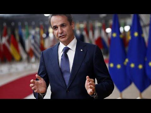 """Σύνοδος Κορυφής ΕΕ – Κ. Μητσοτάκης: """"Δεν μπορεί να γίνει άλλο ανεκτή η τουρκική προκλητικότητα…"""