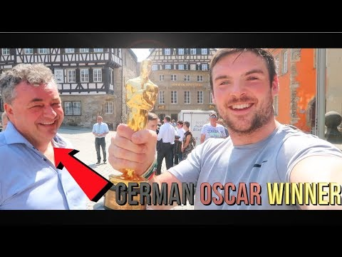 AN ACADEMY AWARD in GERMANY!!!