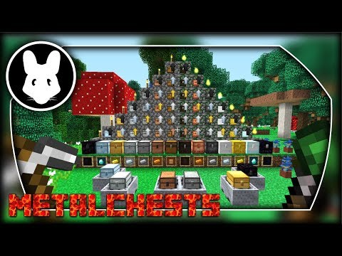 MetalChests mod for Minecraft 1.12! Bit-by-Bit by Mischief of Mice!