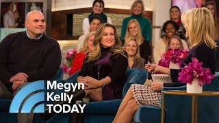 Boston Marathon Bomb Survivor Marries Firefighter Who Saved Her | Megyn Kelly TODAY