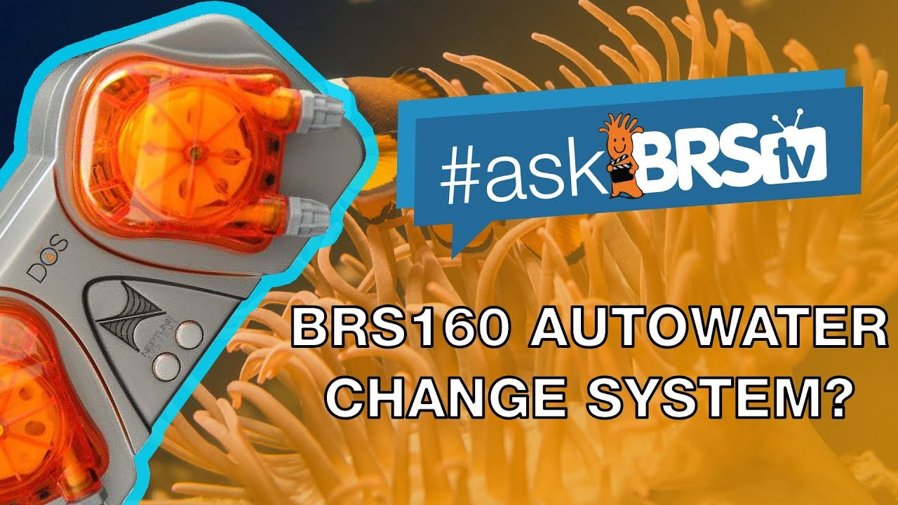 Is there a video for the Auto Water Change System on the BRS160? - #AskBRStv