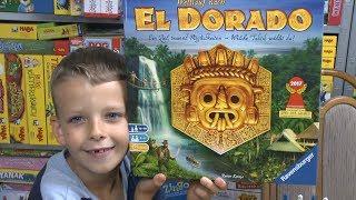 Wettlauf nach El Dorado (Ravensburger) - ab 10 Jahre ... nominiert zum Spiel des Jahres 2017